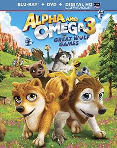 Alpha and Omega 3 The Great Wolf Games Digital Copy Download Code UV Ultra Violet VUDU HD HDX