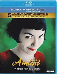 Amelie Digital Copy Download Code UV Ultra Violet VUDU HD HDX