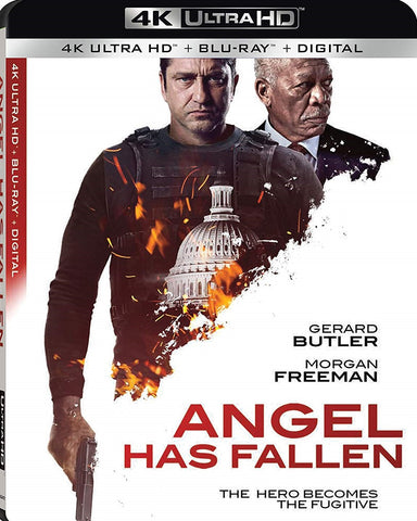 Angel Has Fallen Digital Copy Download Code Vudu or iTunes 4K