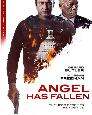 Angel Has Fallen Digital Copy Download Code Vudu or iTunes HD HDX