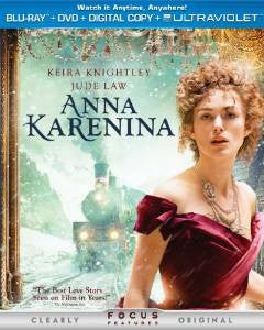 Anna Karenina Digital Copy Download Code UV Ultra Violet VUDU HD HDX
