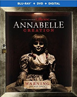Annabelle Creation Digital Copy Download Code Ultra Violet UV VUDU iTunes HD HDX