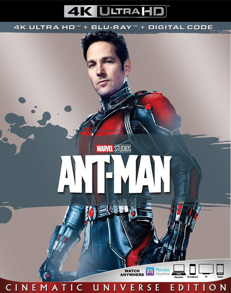 Ant-Man Digital Copy Download Code Marvel Disney Vudu 4K