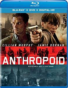 Anthropoid Digital Copy Download Code UV Ultra Violet VUDU HD HDX