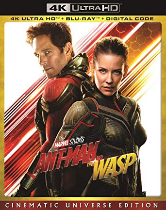 Ant-Man and the Wasp Digital Copy Download Code Marvel Disney Vudu 4K