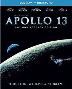 Apollo 13 Digital Copy Download Code UV Ultra Violet VUDU HD HDX