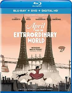 April and the Extraordinary World Digital Copy Download Code iTunes HD