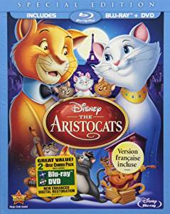 Aristocats Digital Copy Download Code Disney Movies Anywhere VUDU iTunes HD HDX