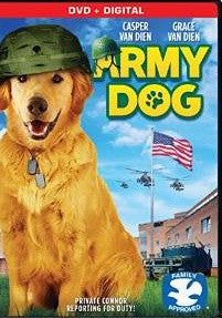 Army Dog Digital Copy Download Code UV Ultra Violet VUDU SD
