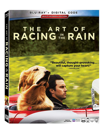 Art of Racing in the Rain Digital Copy Download Code MA VUDU iTunes HD HDX