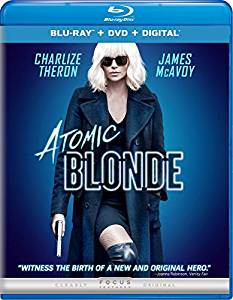 Atomic Blonde Digital Copy Download Code iTunes HD 4K