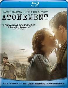 Atonement Digital Copy Download Code iTunes HD