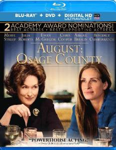 August Osage County Digital Copy Download Code UV Ultra Violet VUDU HD HDX