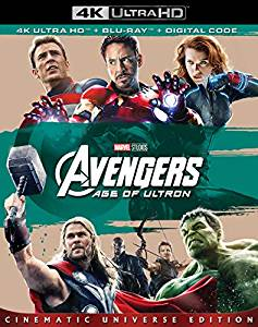 Avengers Age of Ultron Digital Copy Download Code Marvel Disney VUDU 4K