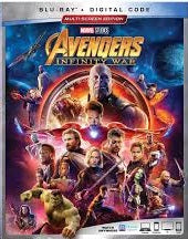 Avengers Infinity War Digital Copy Download Code Disney Movies Anywhere VUDU iTunes HD HDX