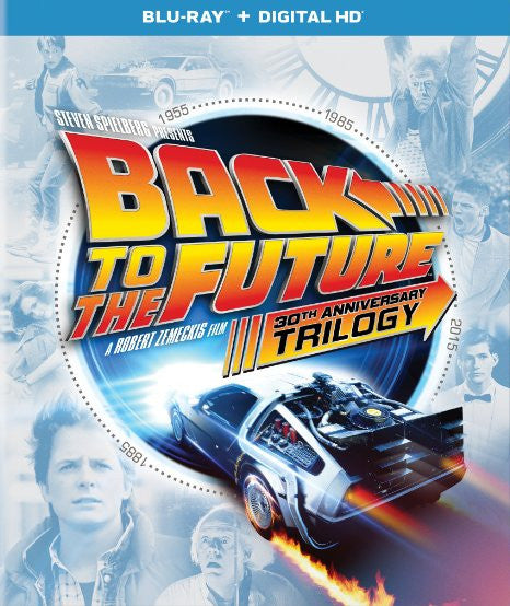 Back to the Future Trilogy Digital Copy Download Code iTunes HD