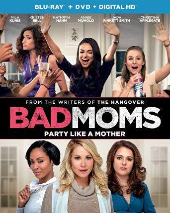 Bad Moms Digital Copy Download Code UV Ultra Violet VUDU HD HDX
