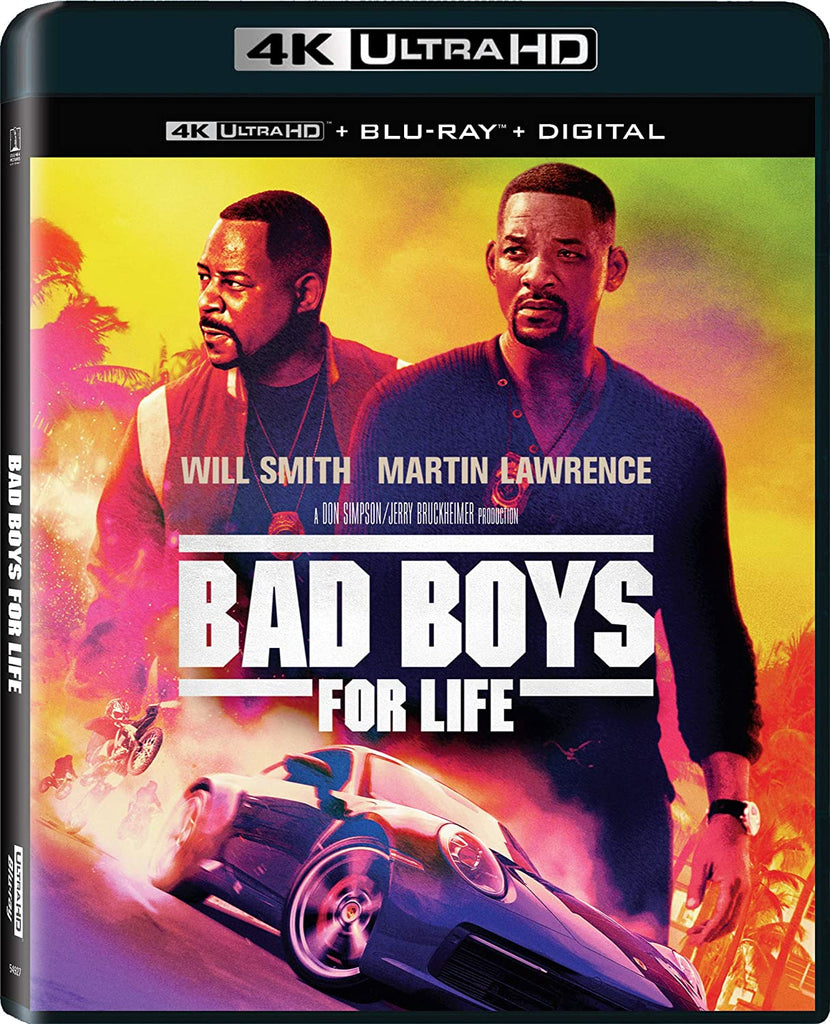 Bad Boys For Life Digital Copy Download Code VUDU iTunes 4K