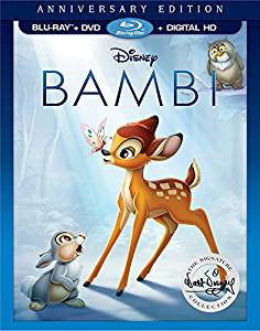 Bambi Digital Copy Download Code Ultra Violet UV VUDU iTunes HD HDX