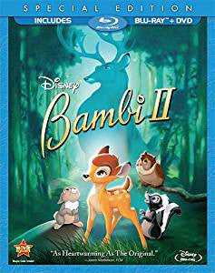 Bambi II Digital Copy Download Code Disney Movies Anywhere VUDU iTunes HD HDX