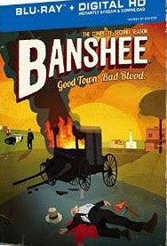 Banshee Season 2 Digital Copy Download Code UV Ultra Violet VUDU HD HDX