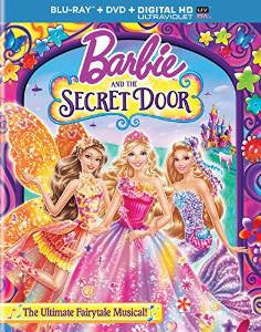 Barbie and the Secret Door Digital Copy Download Code UV Ultra Violet VUDU HD HDX