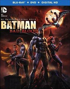 Batman Bad Blood Digital Copy Download Code MA VUDU iTunes HD HDX