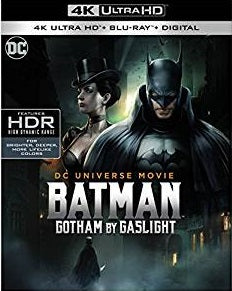 Batman Gotham by Gaslight Digital Copy Download Code 4K FandangoNow