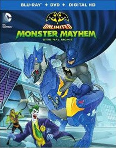 Batman Unlimited Monster Mayhem Digital Copy Download Code UV Ultra Violet VUDU iTunes HD HDX