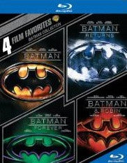 4 Film Favorites: Batman Collection Batman/Batman Returns/Batman Forever/Batman & Robin Digital Copy Download Code UV Ultra Violet VUDU HD HDX