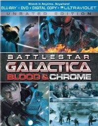 Battlestar Galactica Blood & Chrome Digital Copy Download Code iTunes HD