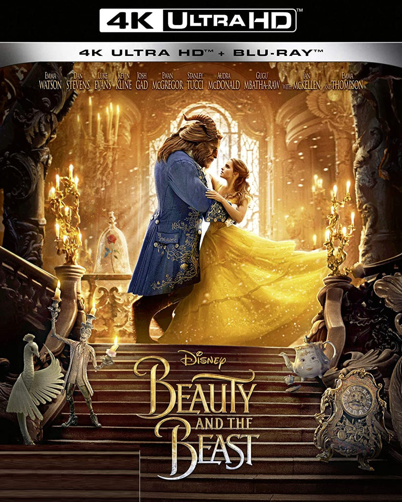Beauty and the Beast (2017) Digital Copy Download Code Disney VUDU 4K