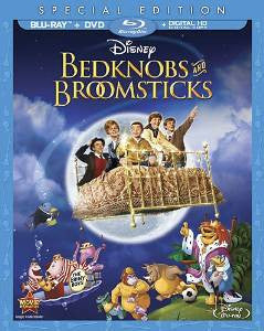 Bedknobs & Broomsticks Digital Copy Download Code Disney Google Play HD