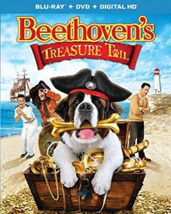 Beethoven's Treasure Tail Digital Copy Download Code iTunes HD