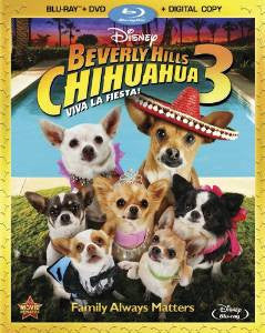 Beverly Hills Chihuahua 3 Digital Copy Download Code Disney Movies Anywhere VUDU iTunes HD HDX