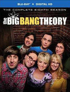 Big Bang Theory Season 8 Digital Copy Download Code UV Ultra Violet VUDU HD HDX