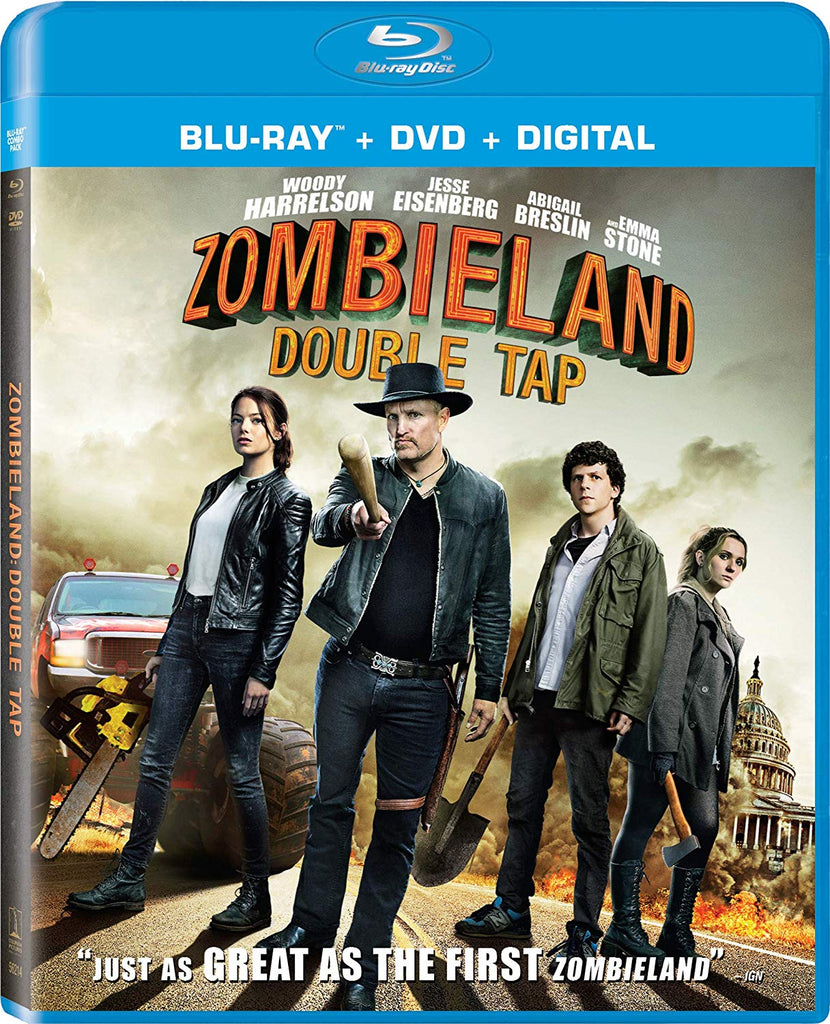 Zombieland Double Tap Digital Copy Download Code MA VUDU iTunes HD HDX