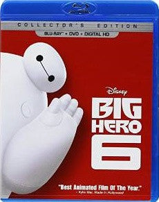 Big Hero 6 Digital Copy Download Code Disney Movies Anywhere VUDU iTunes HD HDX