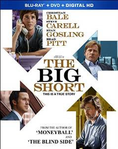 Big Short Digital Copy Download Code UV Ultra Violet VUDU HD HDX