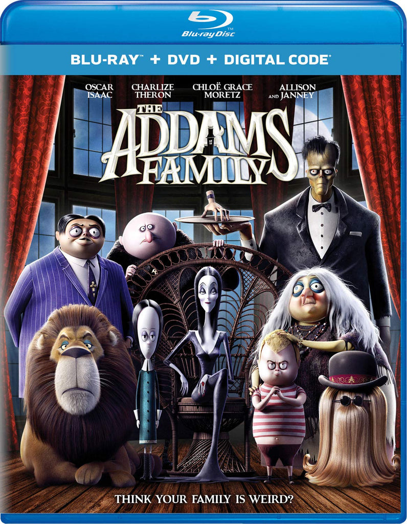 Addams Family (2020) Digital Copy Download Code iTunes 4K