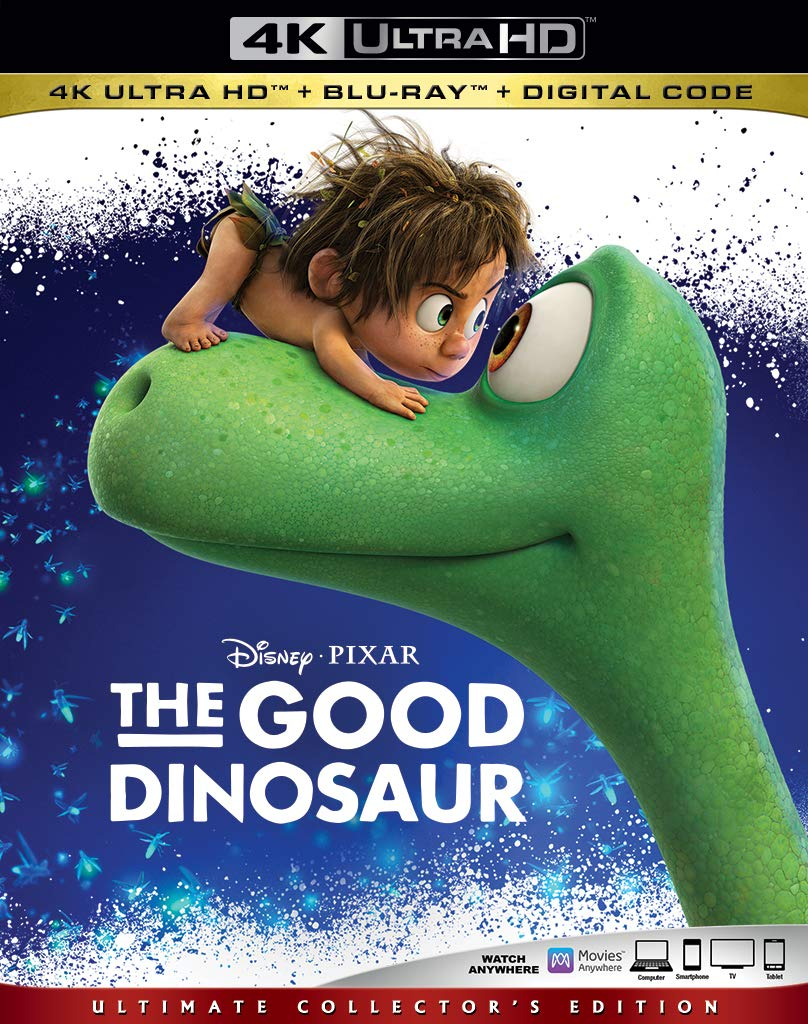 Good Dinosaur Digital Copy Download Code Disney VUDU 4K