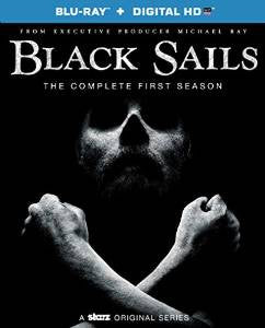 Black Sails Season 1 Digital Copy Download Code UV Ultra Violet VUDU HD HDX