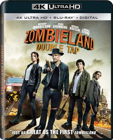 Zombieland Double Tap Digital Copy Download Code MA VUDU iTunes 4K