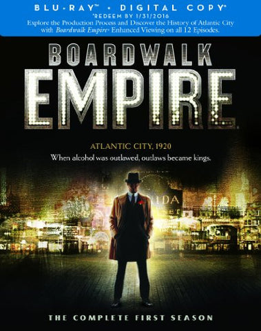 Boardwalk Empire Season 1 Digital Copy Download Code UV Ultra Violet VUDU HD HDX