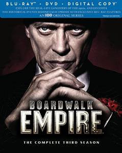 Boardwalk Empire Season 3 Digital Copy Download Code UV Ultra Violet VUDU HD HDX