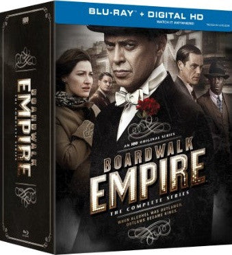 Boardwalk Empire Complete Series Digital Copy Download Code UV Ultra Violet VUDU HD HDX