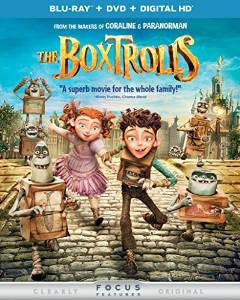 Boxtrolls Digital Copy Download Code iTunes HD