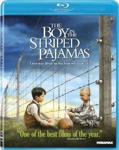 Boy in the Stripped Pajamas Digital Copy Download Code UV Ultra Violet VUDU HD HDX