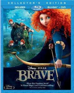 Brave Digital Copy Download Code Disney Movies Anywhere VUDU iTunes HD HDX