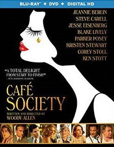 Cafe Society Digital Copy Download Code UV Ultra Violet VUDU HD HDX